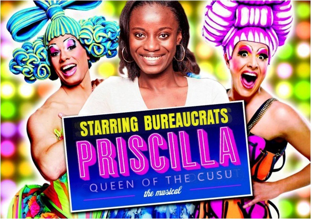Like CUSU, Priscilla has a fun, musical side.