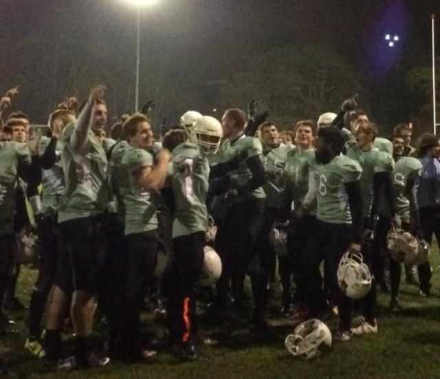 Pythons celebrate last year's Varsity win