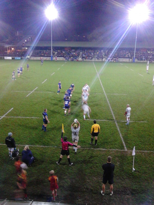 The lineout will be a key are against Oxford