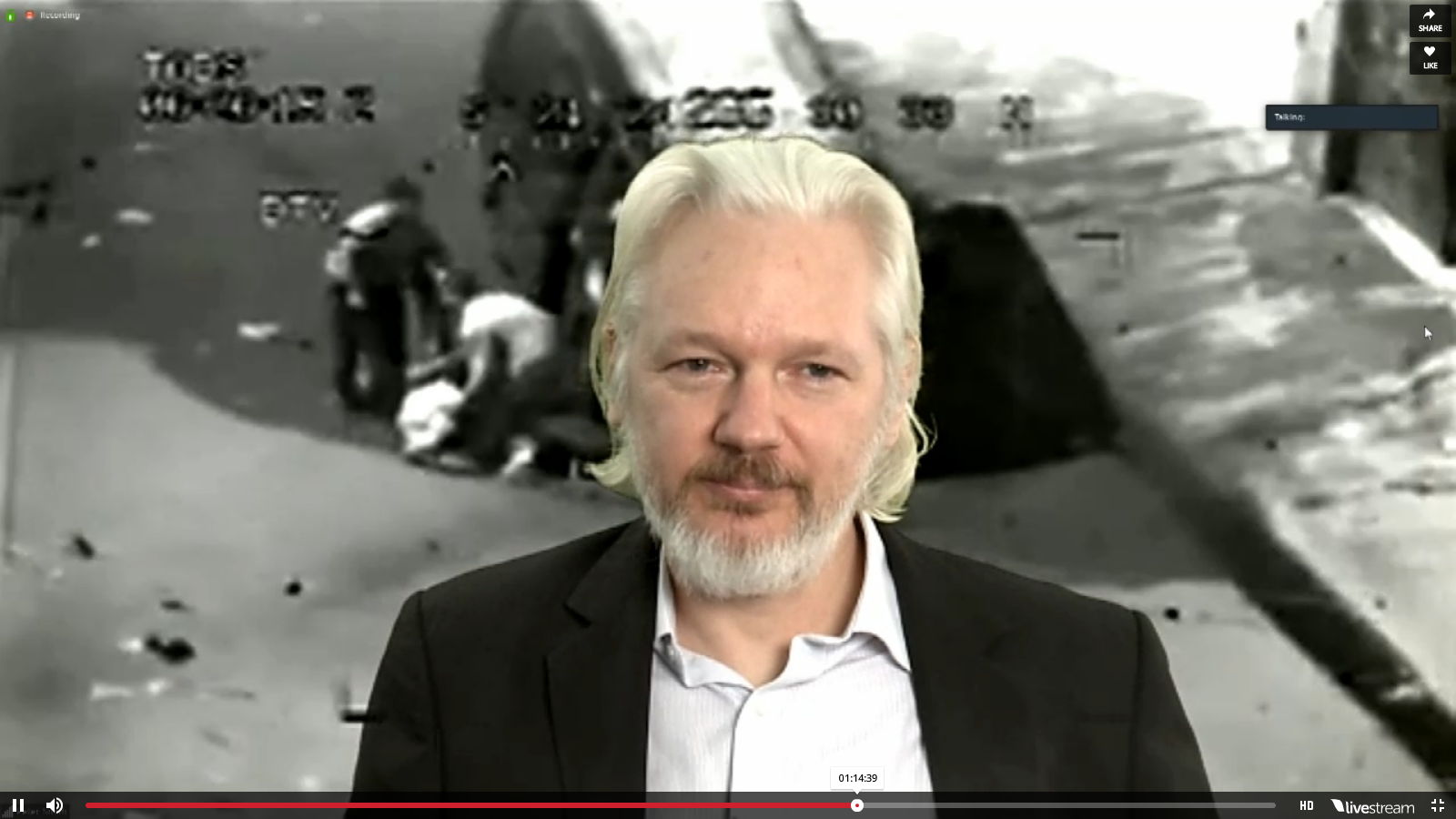Controversial speakers like Mr Assange could be considered 'extreme' by Prevent, and would either be censored or banned in future appearances