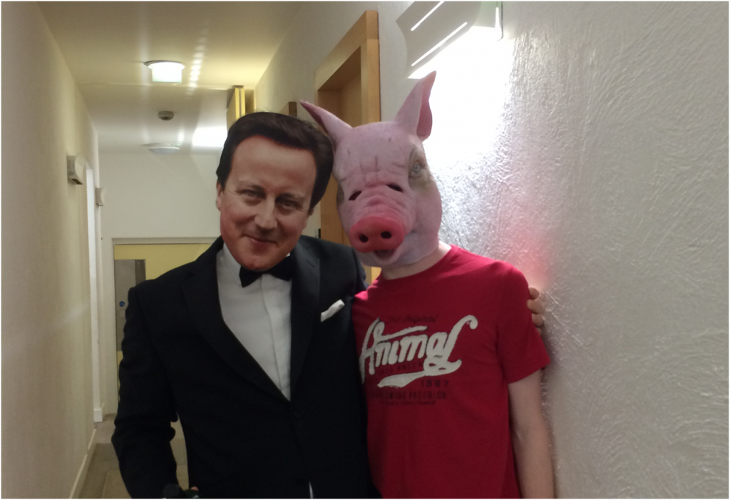 David Cameron and Pig (HALLOWEEN2)