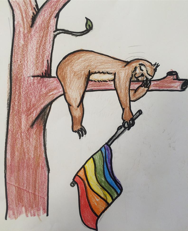 The slacktivism sloth.