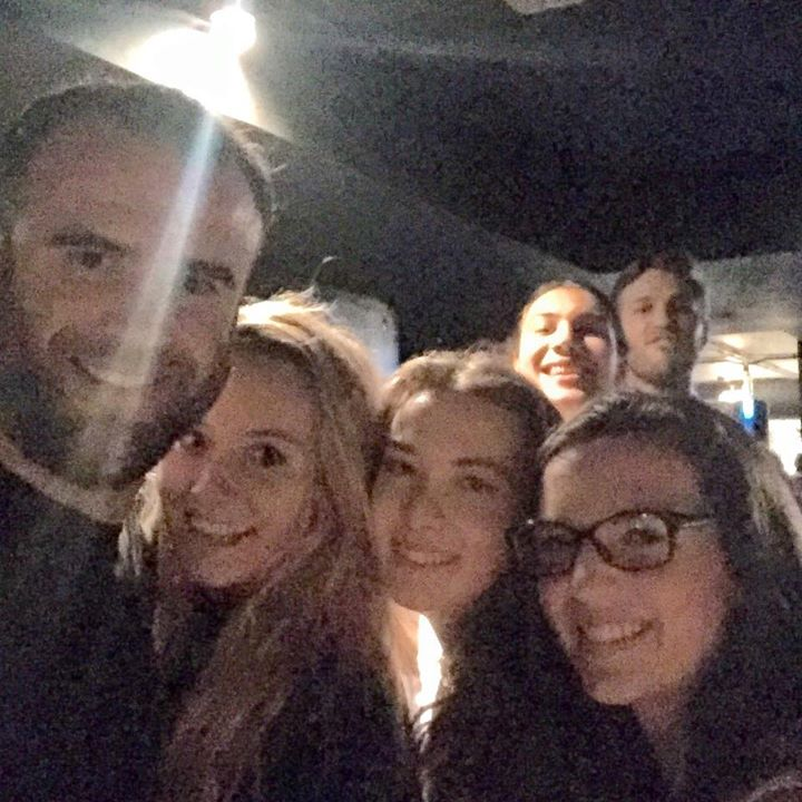 Cindies selfies - typical Cambridge