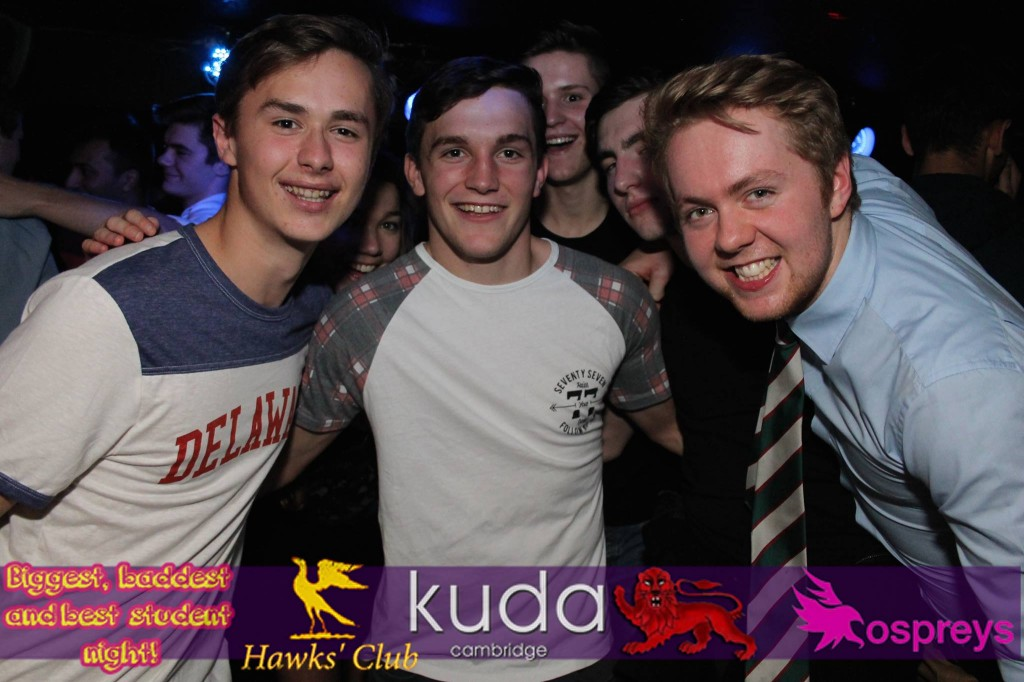 These happy faces beg to differ with your conviction that Cambridge clubbing is terrible.