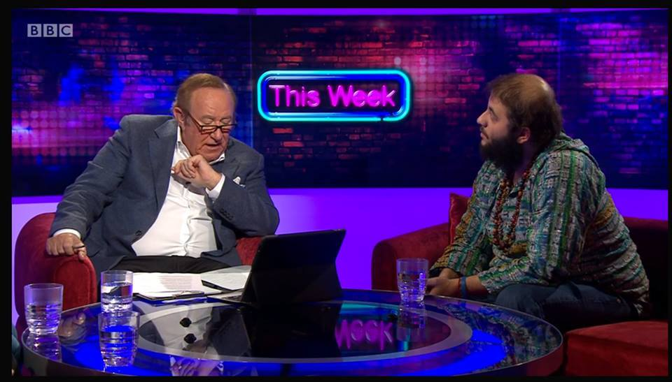 Cambridge student Hennessy goes head-to-head with Andrew Neil on the BBC