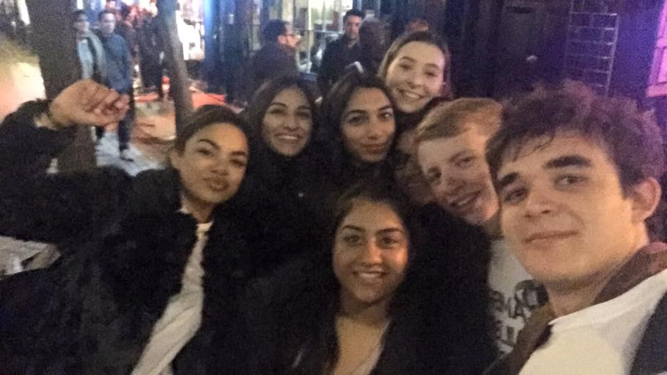 They pulled an all-nighter in London to raise money.