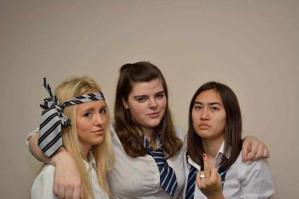Unimpressed by the patriarchy. (Photo Credit: Freddie Dyke)