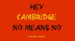 Cambridge for Consent's teal ribbon campaign launched last year