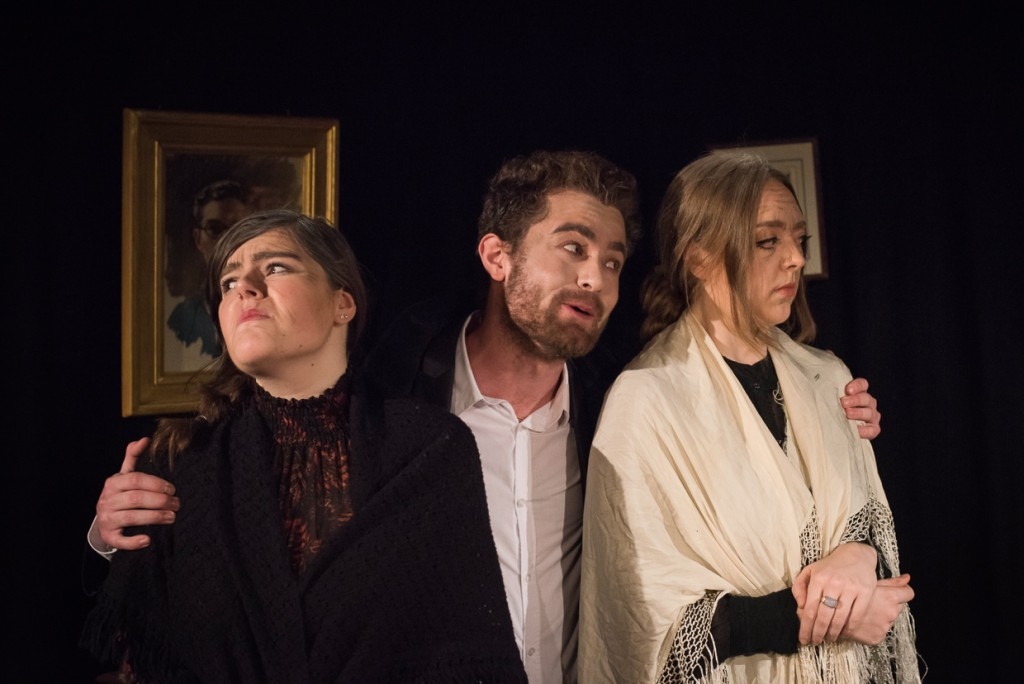 Jasmin Rees, Jerome Burelbach and Rebecca Cusack. (Photo Credit: Johannes Hjorth)