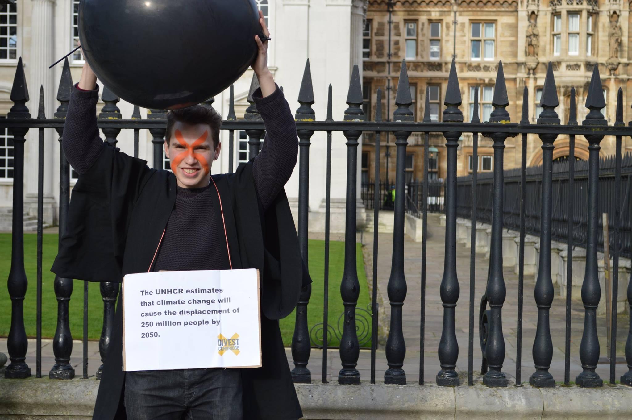 Campaigning with Cambridge Zero Carbon.