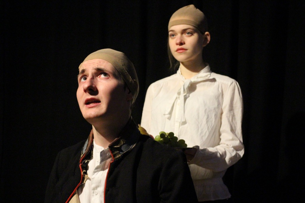 Two performers, one character. (Photo Credit: Lian Wilkinson)