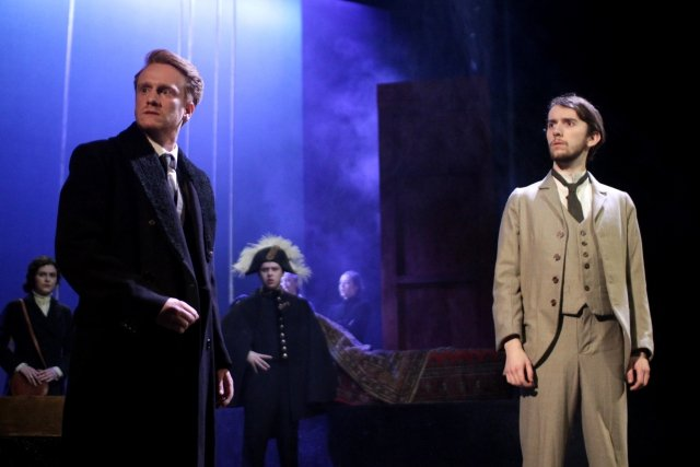 Marco Young as Angelo and Mark Milligan as the Duke. (Photo Credit: Amelia Oakley)