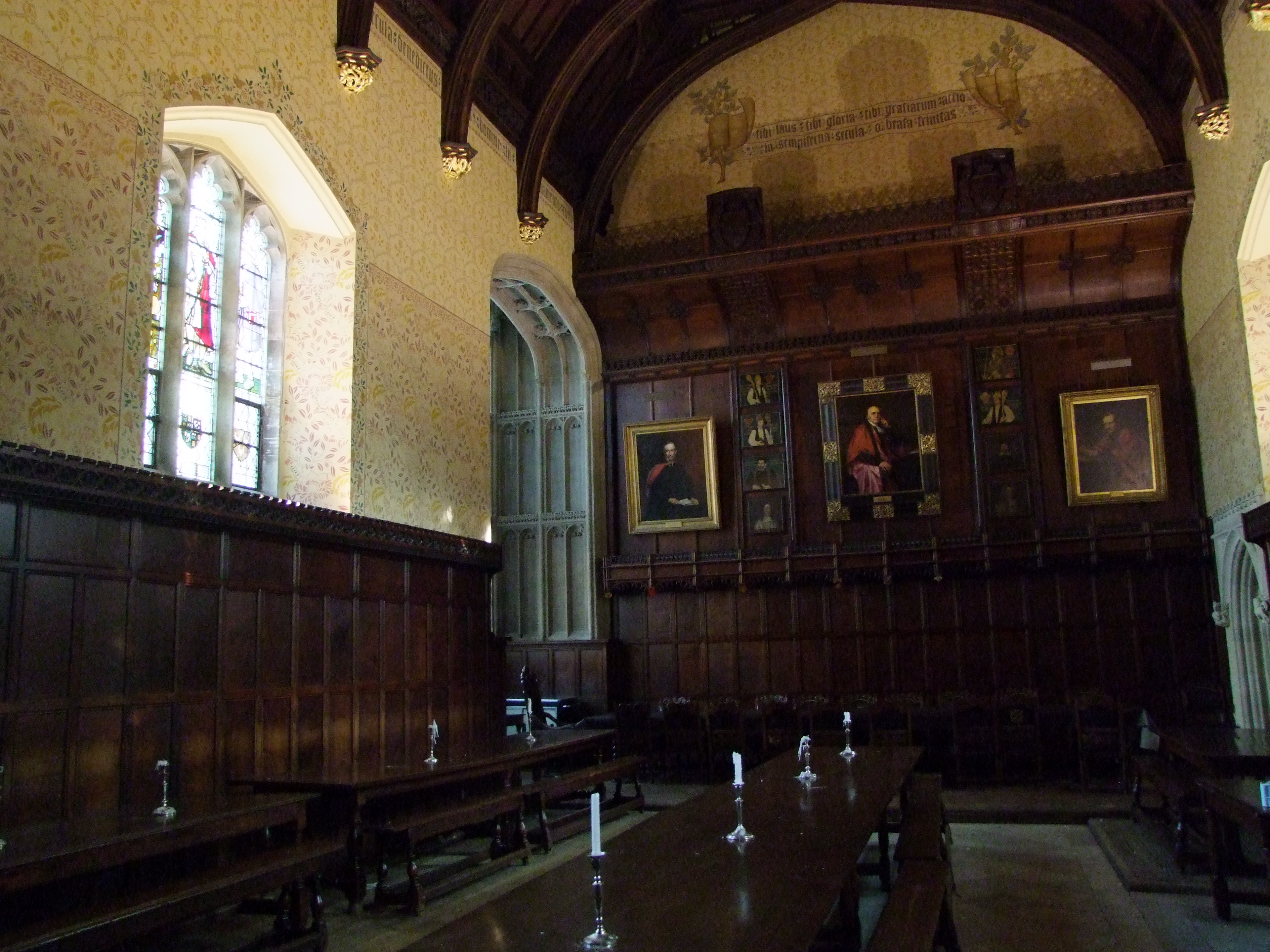 Peterhouse Hall is the oldest building in Europe still used for its original purpose, even after the admission of women in 1985.
