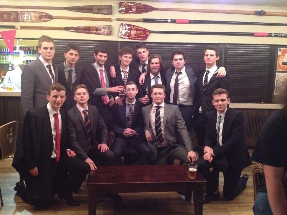 Fitzwilliam casual team photo