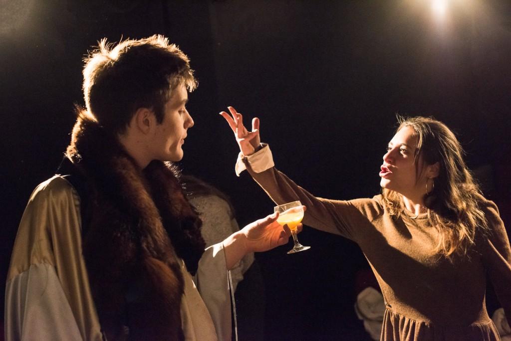 Adam Butler-Rushton and Elinor Lipman. (Photo Credit: Johannes Hjorth)