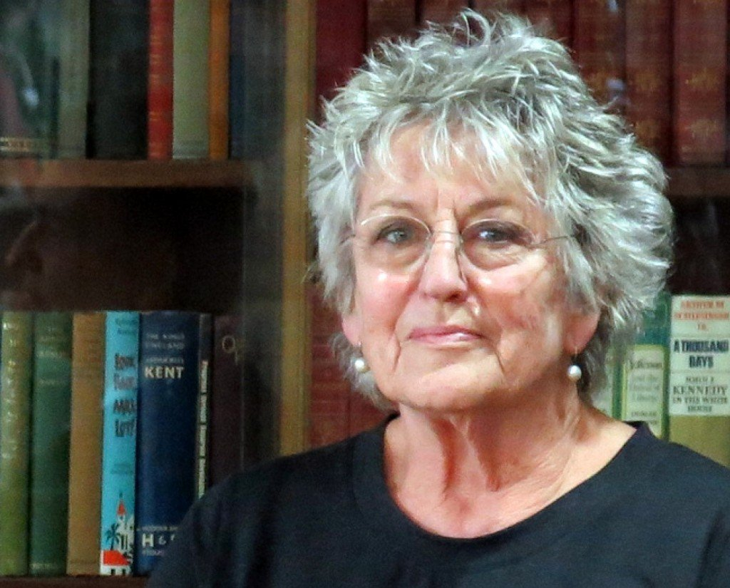 A photograph of Germaine Greer