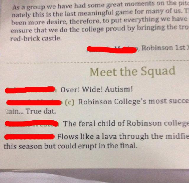 robinson squad