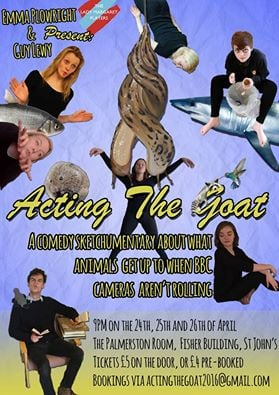 acting the goat poster