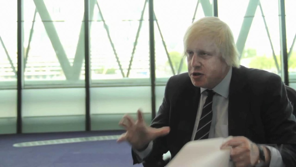 """Boris isn't a fan of the Nick Clegg either and once said """"The Lib Dems are not just empty. They are a void within a vacuum surrounded by a vast inanition."""""""