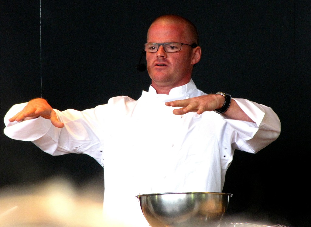 Will Heston cook up a storm? Or flop like an undercooked soufflé?