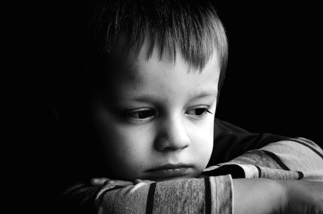 A young victim of social perspective privilege thinking about how difficult it will be for him to never encounter anything difficult.