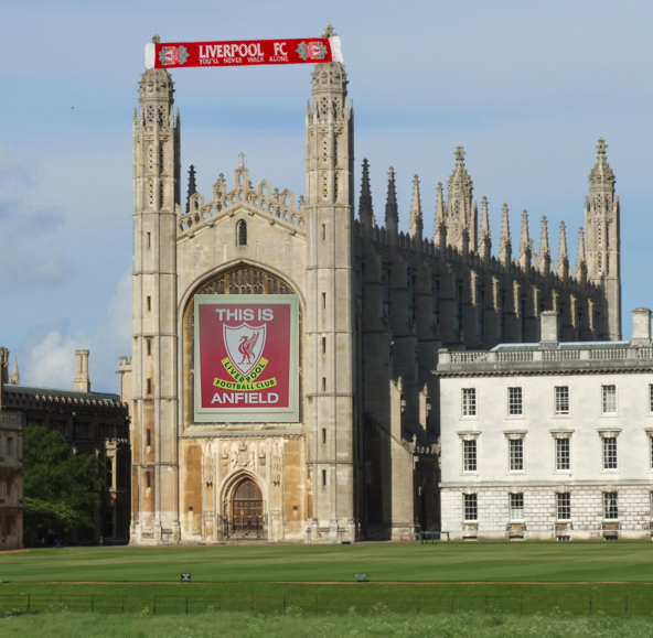 You'll Never Walk Alone chanted by King's College Chapel Choir