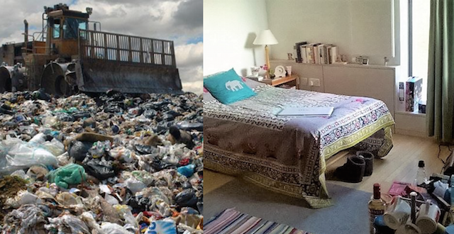 Before and after: my room looks ten years younger