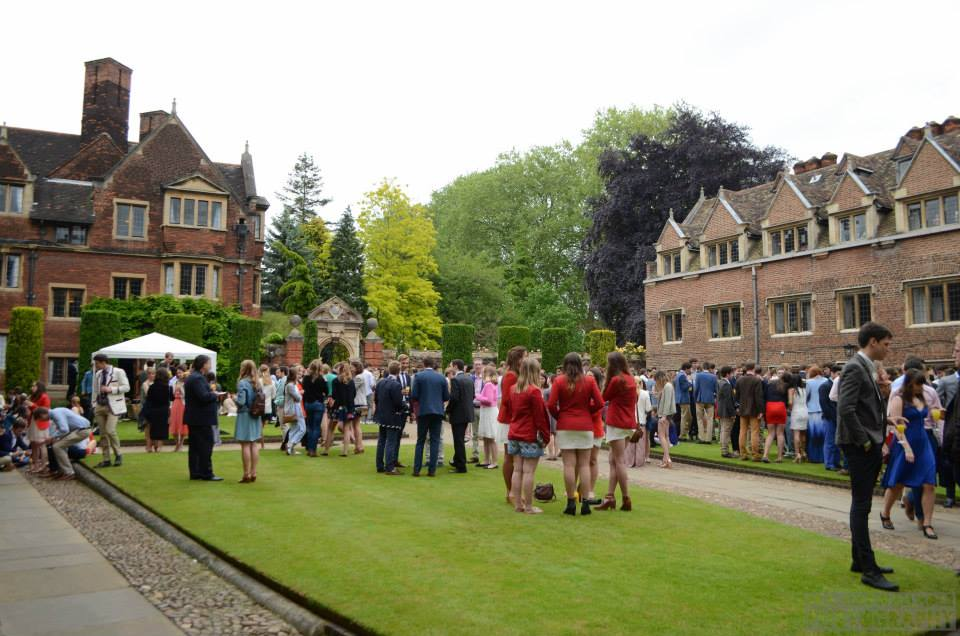 Liberal sunshine and nibbles make garden parties an affordable extravagance, and a great way to meet other members of your societies.