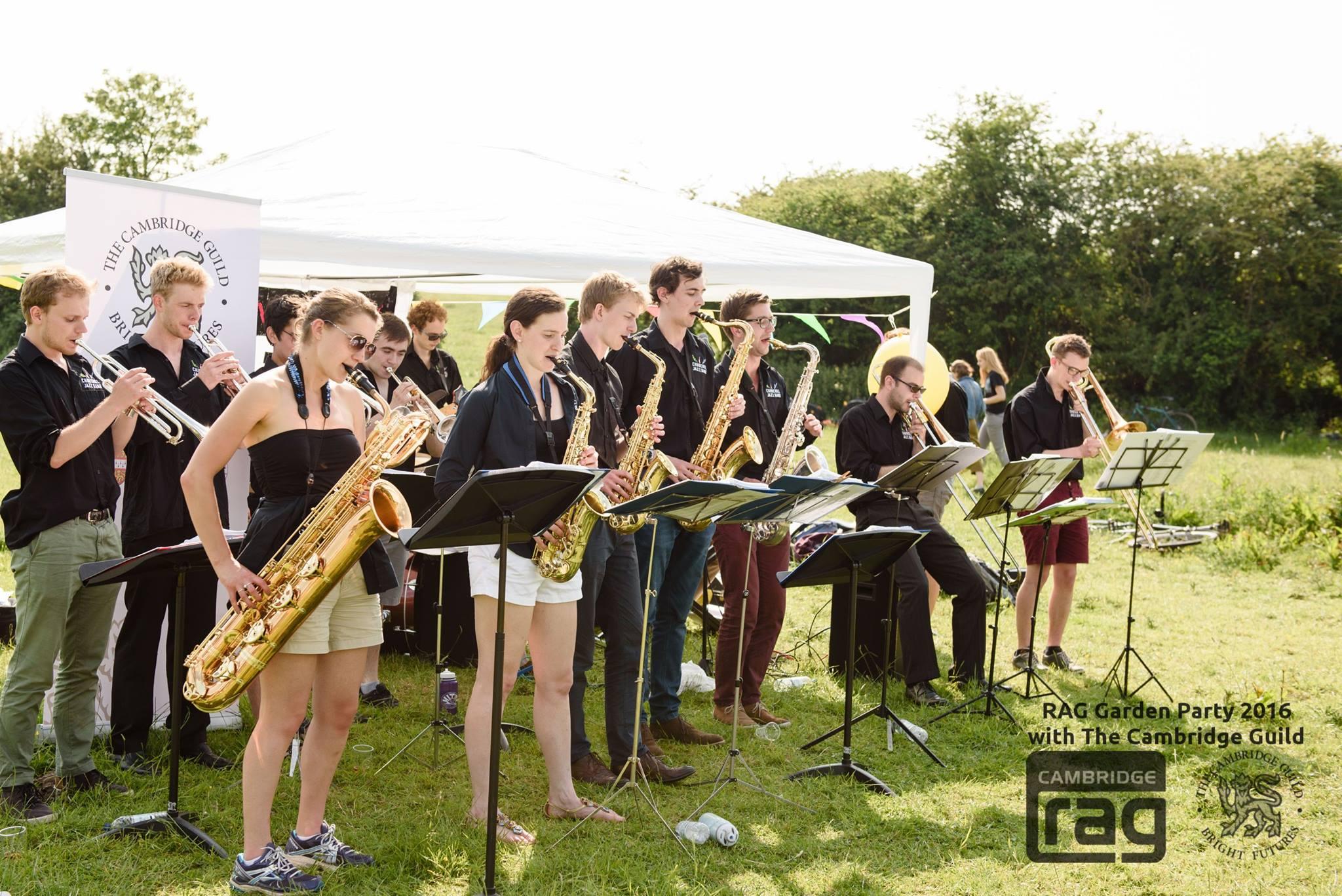 jazz band garden party grantchester