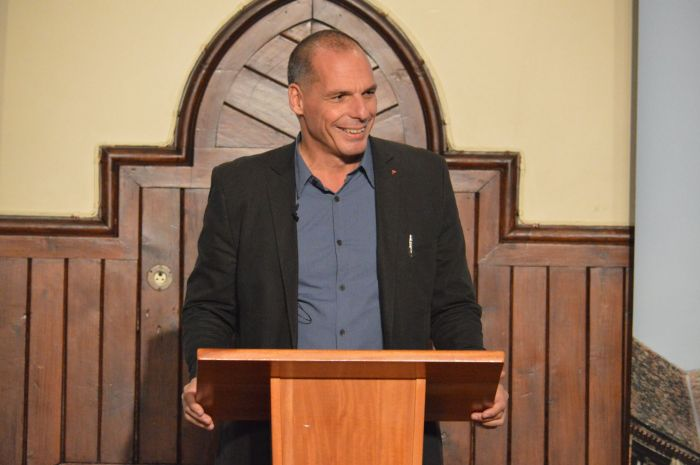 Varoufakis' speech last Michaelmas was thought to attract over a thousand students