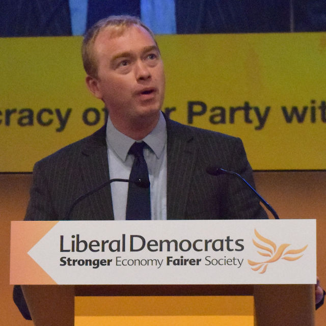 Let's hope his performance in the chamber is better than the Lib Dem performance in the polls