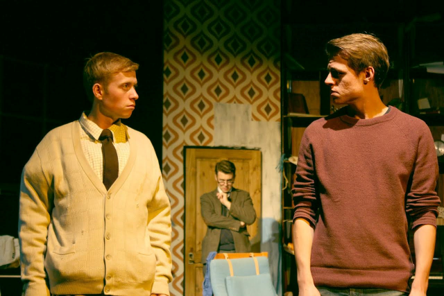 Tothill, Tim Vaughan as Henry/Britten and Jamie Robson as Tim/Stuart