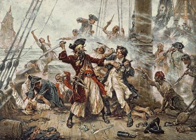 actual representation of pirates in corpus, anarchy ensuing