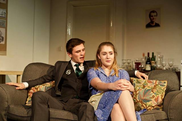 Jake Spence and Laura Pujos, credit Benedict Flett