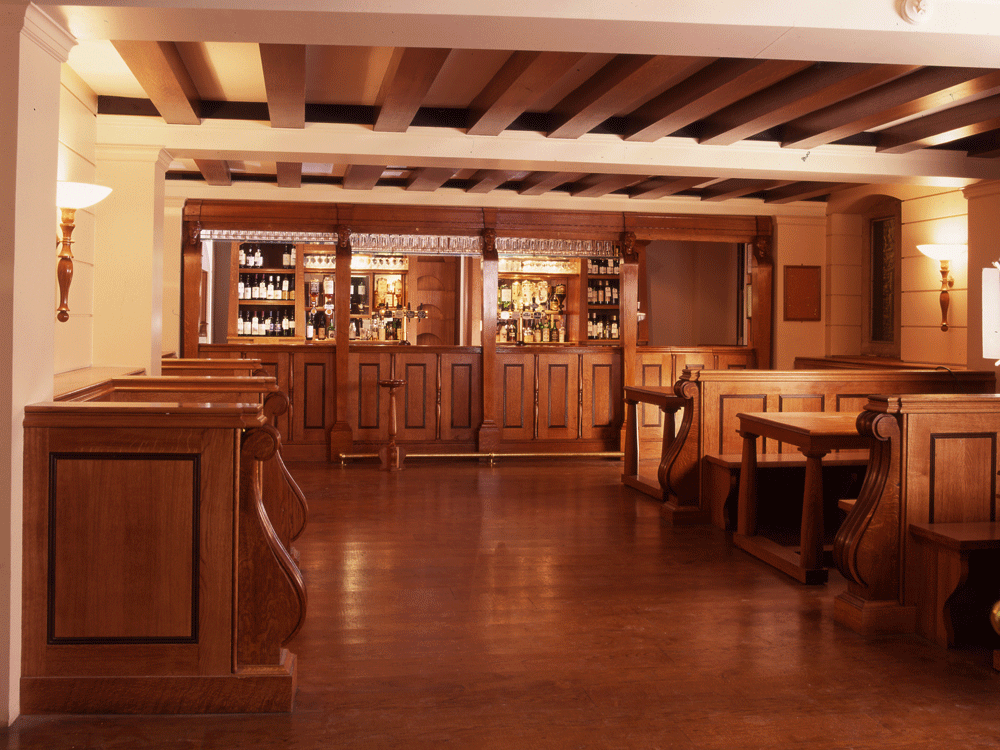 Caius students will spend May Week celebrating in their bar, with no May Ball to go to.