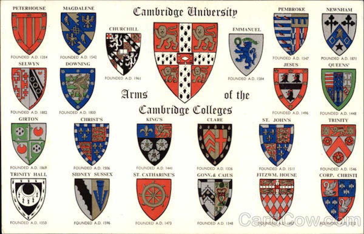 University of Cambridge  Home  StJohns
