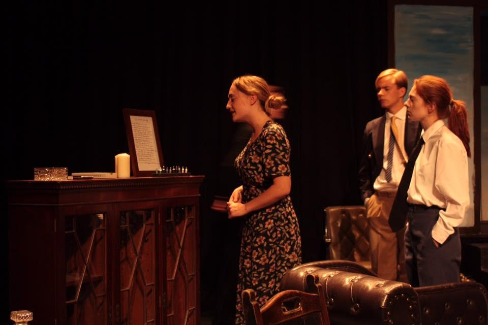 Thea Mead, Henry Eaton-Mercer and Irrah Carver-Jones.