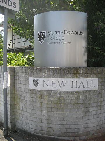 Murray Edwards was founded in 1954, and was originally named New Hall