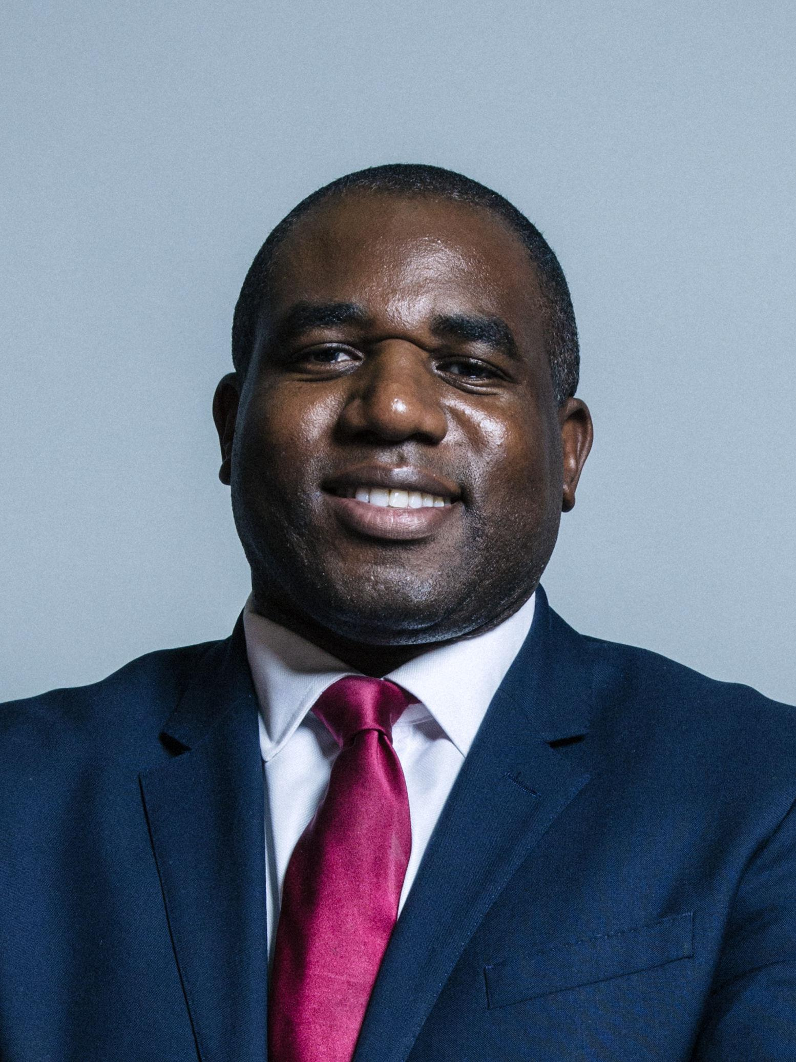 Lammy condemned the universities of Oxford and Cambridge
