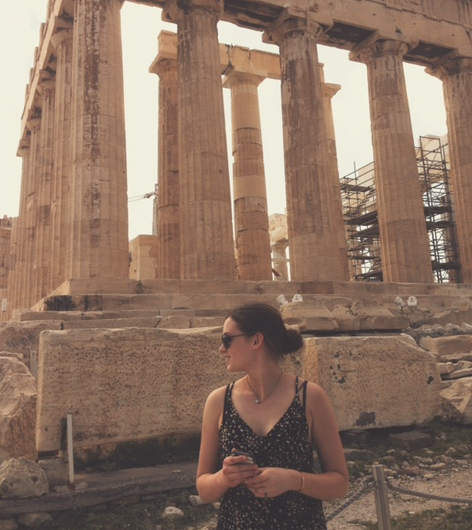 The only marble columns I'll ever see…