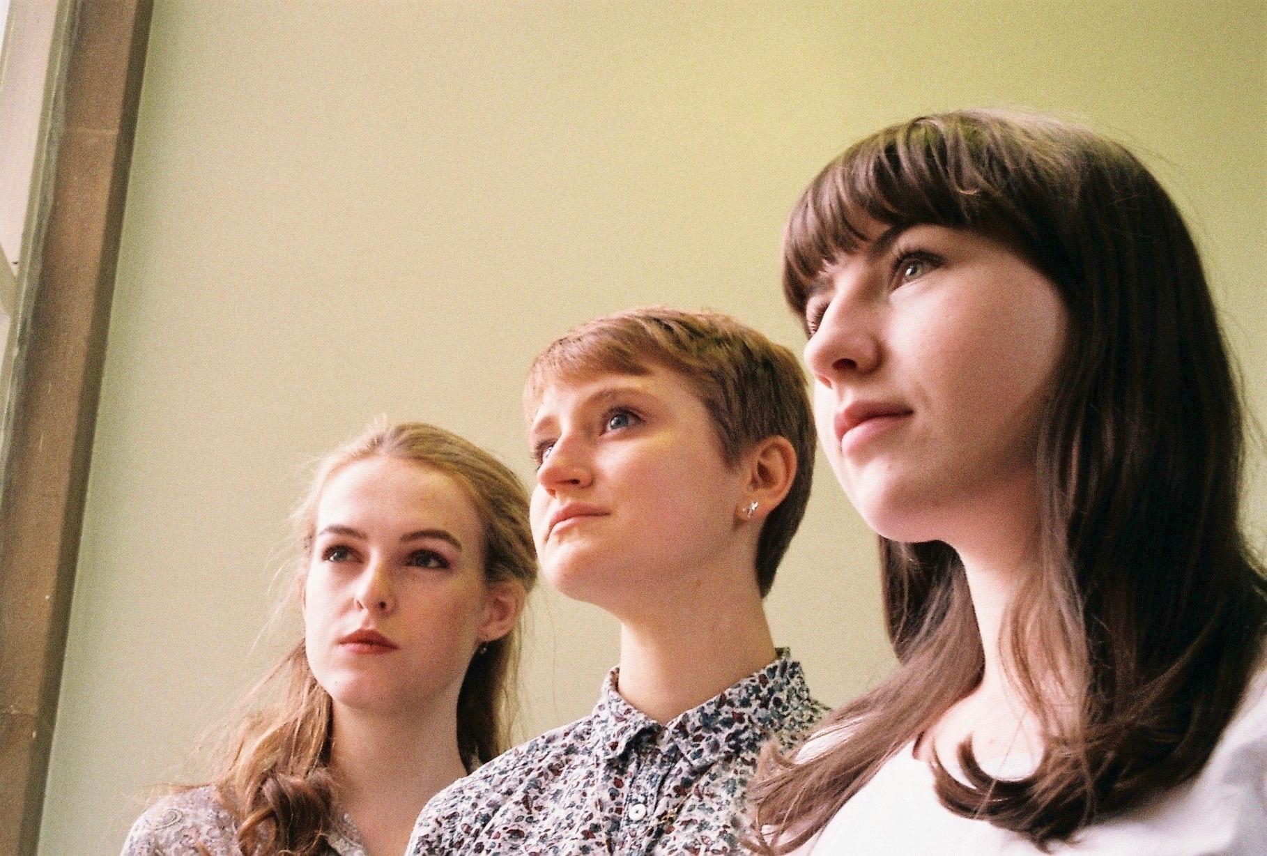 The cast: Grace England, Ashleigh Weir, Sarah Amy Taylor