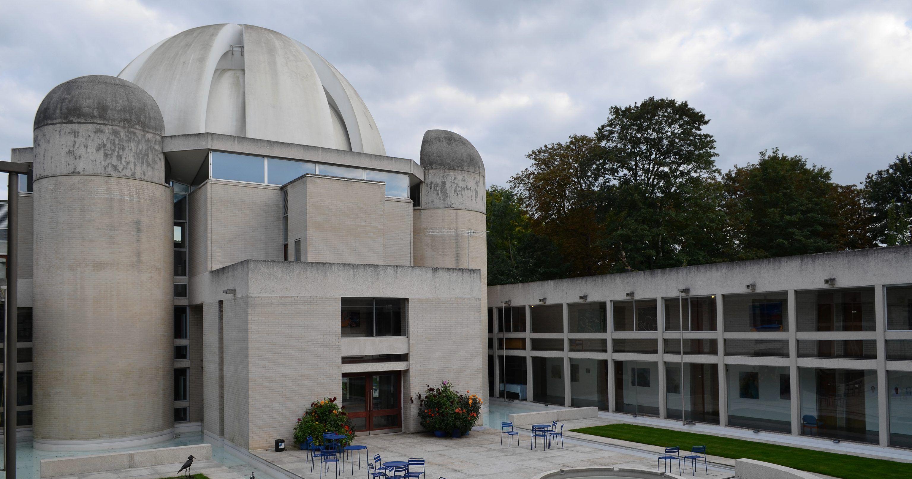 Image may contain: Planetarium, Building, Architecture