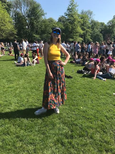 Image may contain: Plant, Grass, Flora, Crowd, Person, People, Human