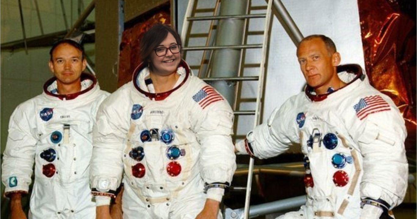 astronauts apollo 11 visite - 1000×750