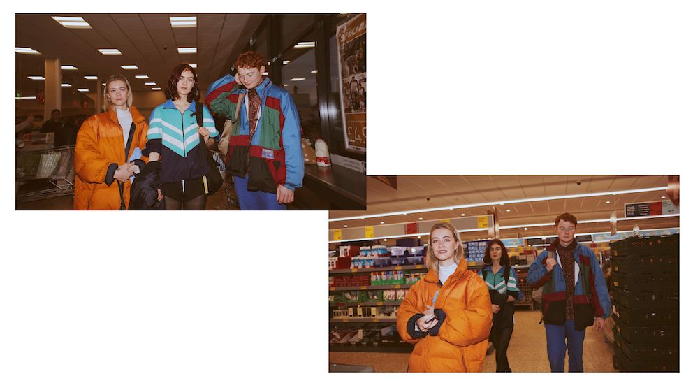Image may contain: Coat, Shop, Apparel, Clothing, Person, Human