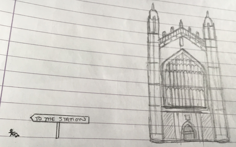 Image may contain: Plan, Diagram, Plot, Sketch, Drawing, Art