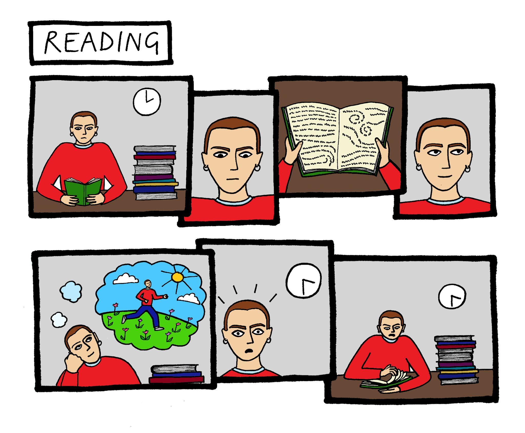 Image may contain: Human, Person, Comics, Book