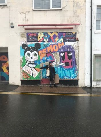 Image may contain: Painting, Mural, Human, Person, Art, Graffiti