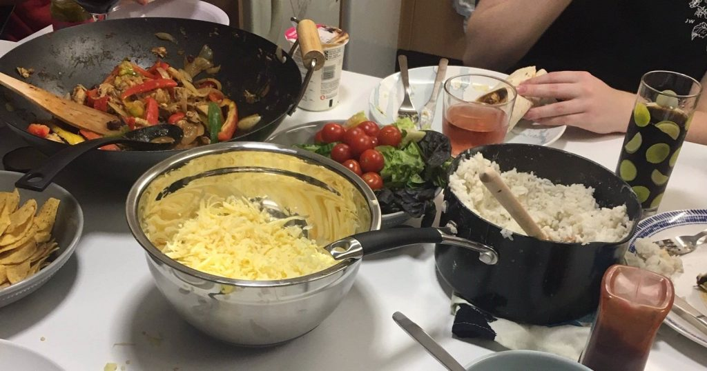 Image may contain: Plant, Dish, Food, Meal, Bowl, Human, Person