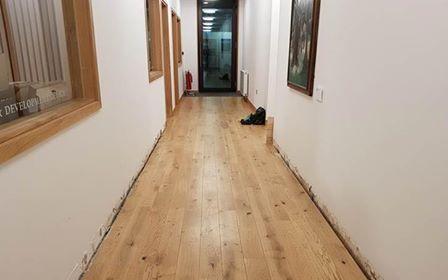 Image may contain: Corridor, Interior Design, Indoors, Hardwood, Floor, Wood, Flooring